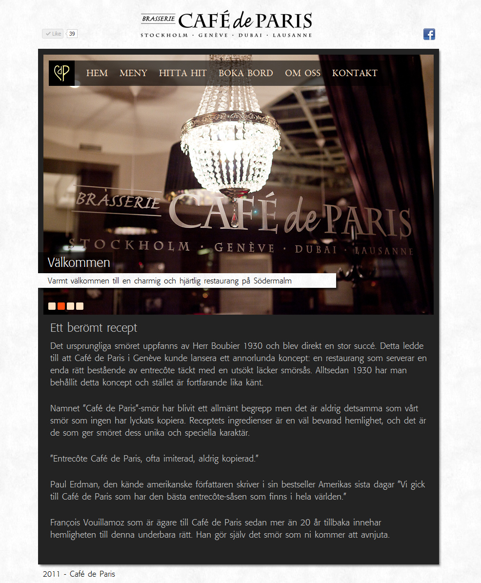 café de paris recept