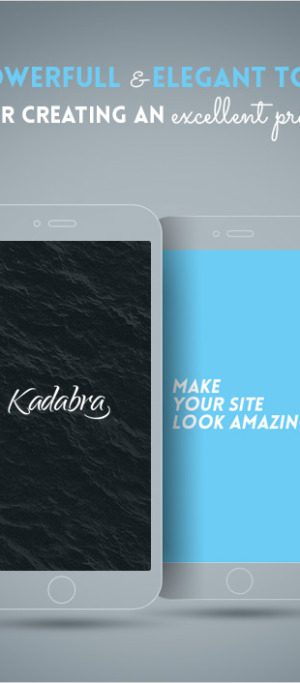 Kadabra — Clean & Creative Multi-Purpose Theme